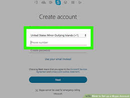 Create Skype Account How To Set Up A Skype Account With Pictures Wikihow