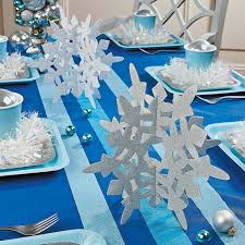 Updated: November 2, 2017 at 3:00 pm. Tags: silver and blue christmas table  decorations