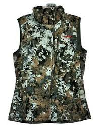 Details About Sitka Gear Womens Celsius Midi Hunting Vest 30071 Elevated Ii Size Large
