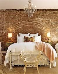 chandelier over bed
