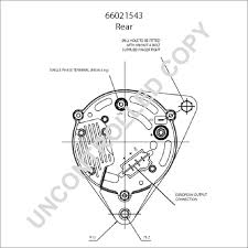 66021543 alternator product details prestolite leece neville 66021543 rear dim drawing at toyota alternator wiring diagram