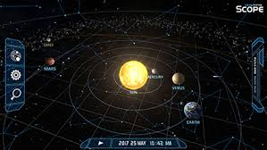 Star Chart 3 0 Solar System Scope Online Model Of Solar System And Night Sky