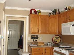 image of cool kitchen paint colors with oak cabinets