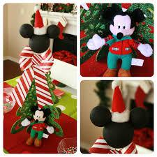Decoración navideña con tema Mickey Mouse - Dale Detalles