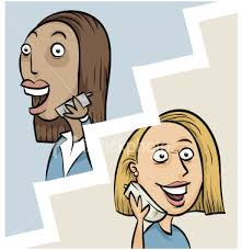 Image result for phone call cartoon