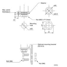 30mm signal light tower led signal tower light patlite mp mps mounting diagram