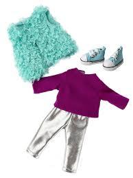 """Комплект <b>одежды</b> с обувью """"Ася Стильная прогулка"""" для <b>куклы</b> 26 ..."""