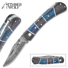 Pocket Knife With Wolf Design Knives For Sale Buy Quality Blades At Discount Prices