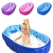 best retail inflatable baby bathtub newborns bathing tub eco friendly portable infant bath basin 95 60 30cm children gifts 201610hx under 23 05