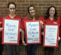 Michigan Nurses Clear 1 Million In Medical Debt For 500 Families