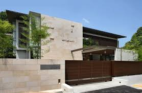 Elegant Minimalist Home Fence Design Picture