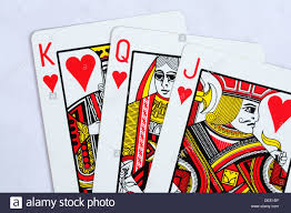 King And Queen Of Hearts Designs Traditional Playing Cards Jack Queen And King Of Hearts