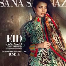 Sana Safinaz Best Eid Dresses Collection 2015-2016 for Women