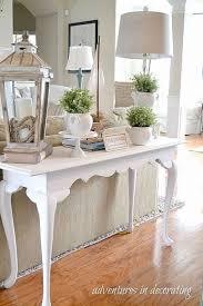 sofa table decor pottery barn. Console Table Decorating Ideas Images Of Photo Albums Pic Pottery Barn Keaton Jpg Sofa Decor E