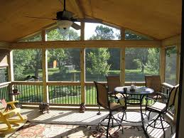 ... Large-size of Upscale Image Interior Screened Porch Plans Ideas  Screened Porch Plans Porch Design ...