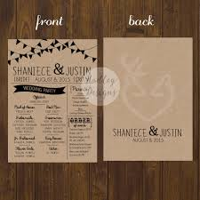 Wedding Program Inclusions Wedding Program Inclusions Sample Ideas 13