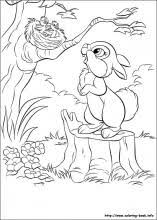 Nothing's sweeter, fuzzier or more cuddly than a bunny!!! Disney Bunnies Coloring Pages On Coloring Book Info
