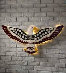 patriotic eagle wall art