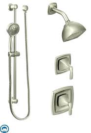 how to repair a moen shower valve q9728 shower valve shower faucet in brushed nickel shower