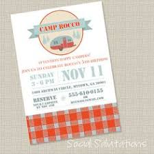 Camping Baby Shower What Better Way To Enjoy The Last Bit Of Camping Themed Baby Shower Invitations