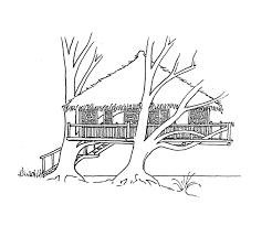 Small Picture Tree House 19 Buildings and Architecture Printable coloring pages