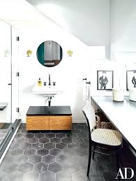 inch hexagonal tile bathroom marble floor black hexagon best ideas on tiles matte ti