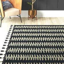 black and grey area rug handwoven black gray area rug