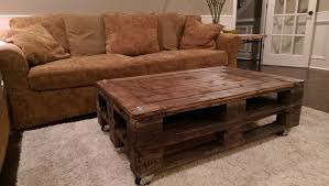 pallet wood coffee table plans