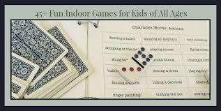 75 indoor games for kids boredom