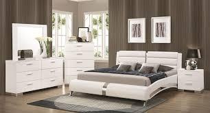 Queen Bedroom Furniture Felicity Bedroom Set W Jeremaine Bed White Bedroom Sets