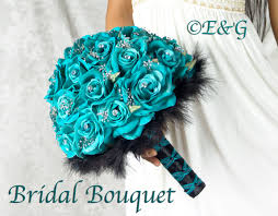 Best 25+ Turquoise bouquet ideas on Pinterest | Teal wedding ...