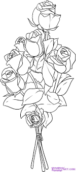 Small Picture How to Draw Roses Step by Step Flowers Pop Culture FREE Online