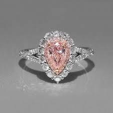 <b>Big Pink</b> CZ <b>Zircon Stone</b> Silver Rings for Women Fashion Wedding ...
