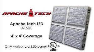 Apache Tech Grow Lights Apache Tech Led At600 Light Test