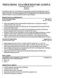 How To Write A Cover Letter For Early Childhood Education Preschool Teacher Cover Letter Sample Tips Resume Companion