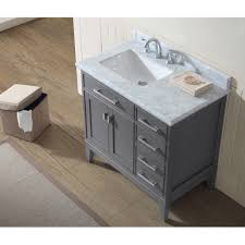 Bathroom Single Vanity Ari Kitchen Bath Danny 36 Single Bathroom Vanity Set Reviews