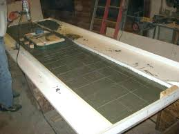 poured concrete countertop making poured concrete countertops vs granite