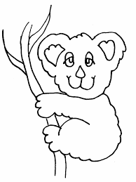 koala s coloring pages