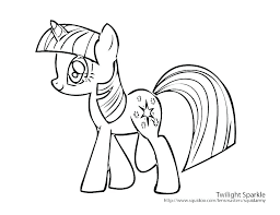 Twilight Sparkle Coloring Twilight Sparkle Coloring Pages Online