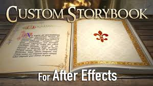 Story Book Powerpoint Template Custom 3d Fairy Tale Storybook For After Effects