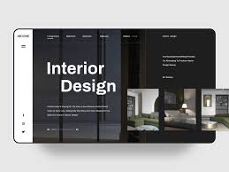 Goby Design Interior Design Web Ui By Goby On Dribbble