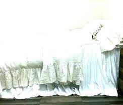 white ruffle duvet cover waterfall covers twin single target uk water