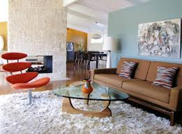 Retro Modern Living Room Cool Inspiration