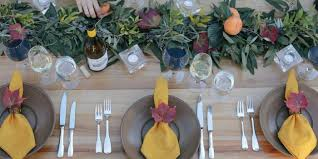 High Quality Centerpiece Ideas For Thanksgiving Table Decorations, Fall Garland Table  Runner