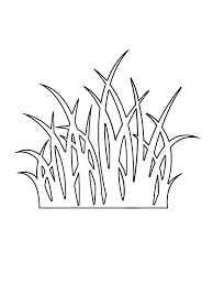 Small Picture Grass Outline Coloring Pages Color Luna