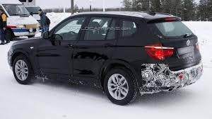 BMW 5 Series 2013 x3 bmw : 2013 BMW X3 facelift spied once again