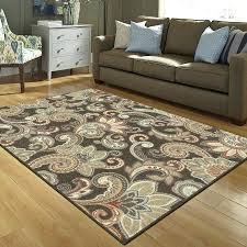brown area rugs brown area rugs intended for better homes and gardens paisley printed or plans