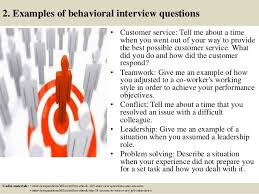 Examples Of Behavioral Interview Questions Top 10 Behavioural Interview Questions And Answers