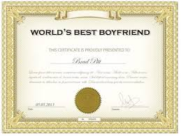 Award An Awesome Certificate For Your Loved Ones In Less Than 12 Hrs