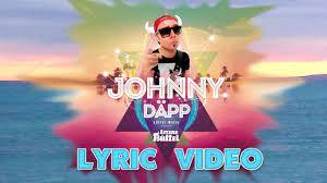 Johnny Däpp (Ich will Malle zurück) - Lorenz Büffel (Lyric Video) - YouTube